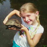 Sophie and turtle